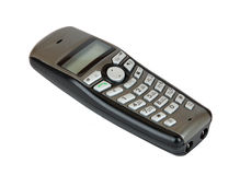 Cordless phone handset Royalty Free Stock Images