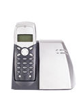 Cordless phone set stock photos