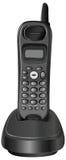 Cordless phone. Vector design of cordless phone Royalty Free Stock Photos