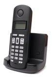 Cordless phone. On white background royalty free stock image