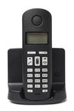 Cordless phone. On white background royalty free stock images