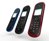 Cordless Phones Stock Photo
