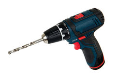 Cordless power tools, isolated Stock Photos