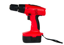 Cordless screwdriver Royalty Free Stock Photography