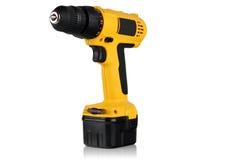 Cordless screwdriver, cordless drill. stock image