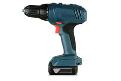 Cordless screwdriver, cordless drill Royalty Free Stock Photos
