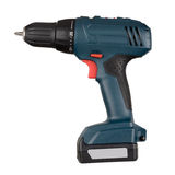 Cordless screwdriver Royalty Free Stock Image