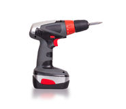 Cordless screwdriver or power drill Royalty Free Stock Image