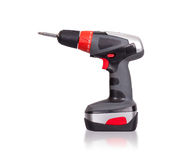 Cordless screwdriver or power drill Royalty Free Stock Images