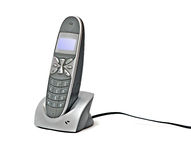 Cordless telephone Royalty Free Stock Photos