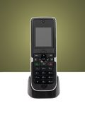 Cordless Telephone Stock Photo