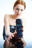 Cordless telephone Royalty Free Stock Image