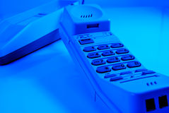 Cordless telephone Royalty Free Stock Photos