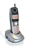 Cordless Telephone in Cradle Royalty Free Stock Photography