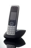 Cordless telephone on white background Royalty Free Stock Images