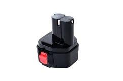Cordless świder maszyny bateria Zdjęcia Stock
