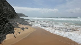 Cordoama海滩阿尔加威,葡萄牙 股票录像