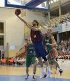 CORDOBA, ИСПАНИЯ - 14-ОЕ СЕНТЯБРЯ: СТАВКА TOMIC b (44) в действии во время FC Barcelona спички (b) против CB Севильи (g) (91-85)  Стоковые Изображения RF
