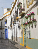 Cordoba Andalucia, Spain: street Royalty Free Stock Photography
