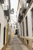 Cordoba Andalucia, Spain: street Stock Image