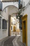 Cordoba Andalucia, Spain: street Royalty Free Stock Photos