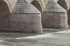 Cordoba andalusia Alte römische Brücke Stockfotografie