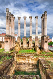 Cordoba, Andalusia, Spain - Roman Temple Stock Photography