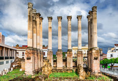 Cordoba, Andalusia, Spain - Roman Temple Royalty Free Stock Photography