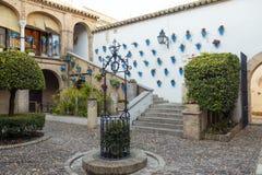 Cordoba Andalusian patio Stock Image