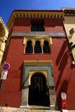 Cordoba - Ansicht eines alten Gebäudes, Andalusien Spanien lizenzfreie stockbilder