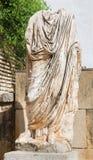 Cordoba - antyczna Rome statua przed Archeological muzeum Zdjęcia Royalty Free