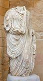 Cordoba - antyczna Rome statua w atrium Archeological muzeum Fotografia Stock