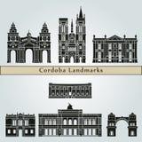 Cordoba AR Landmarks Stock Images