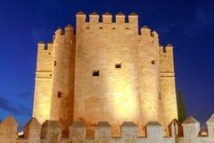 Cordoba. Calahorra Tower. Roman bridge over the Guadalquivir River and Calahorra Tower. Cordoba, Andalusia, Spain royalty free stock image