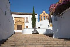 Cordoba - Calle Cuesta del Bailio street Royalty Free Stock Image