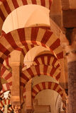 Cordoba Cathedral Arcs Stock Photos
