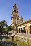 Cordoba Cathedral Bell Tower Stock Photo