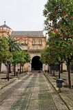 Cordoba, The Cathedral Mosque Entrance Royalty Free Stock Photography