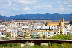 Cordoba Cityscape in Spain Stock Image