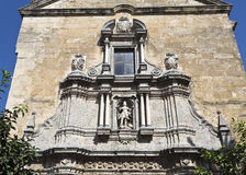 Cordoba Compas de San Francisco. Detail of the facade of the baroque Church of Saint Francis and Saint Eulogius in Cordoba, Spain stock photography