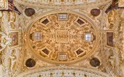 Cordoba - cupola w kościelnym Iglesia De San Agustin Zdjęcie Royalty Free