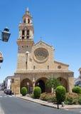 Cordoba - det gotiskt - mudejar kyrkliga Iglesia de San Lorenzo Royaltyfria Bilder