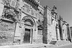 Cordoba - die Kathedralenwände Lizenzfreie Stockbilder