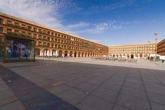 Plaza de La Corredera Stockfotos