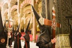 Cordoba holy week Royalty Free Stock Image
