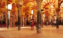 cordoba katedralny meczet Spain Zdjęcia Stock
