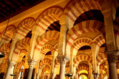 Cordoba-Kathedralen-Bogen stockbild