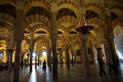 Cordoba meczet Zdjęcia Royalty Free