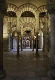 Cordoba meczet, Hiszpania obraz royalty free