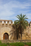 cordoba medeltida spain townvägg arkivbilder